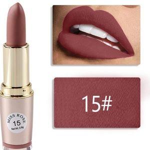 Miss Rose Velvet Matte Lipstick #15
